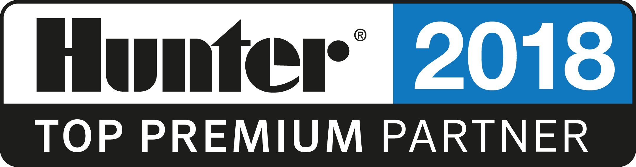 Hunter TOP Premium Partner 2018